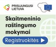 Prisijungusi Lietuva skaitmeninis raštingumas